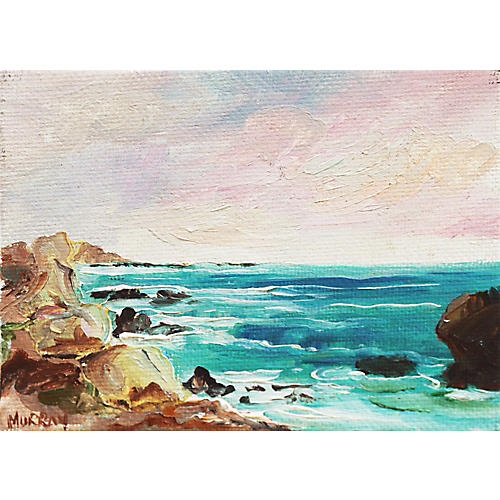 Big Sur Sunset by Kathleen Murray