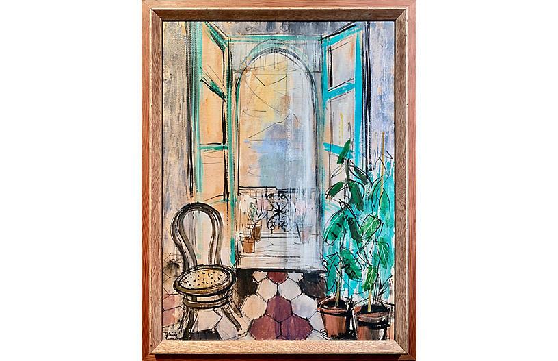 Sunlit Interior by Patricia Cunningham