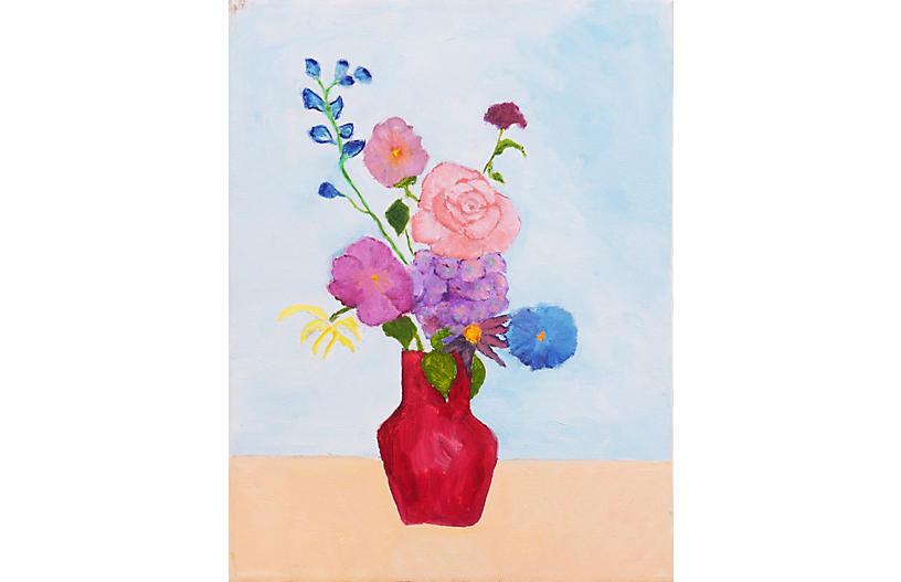 Blue Sky, Spring Bouquet