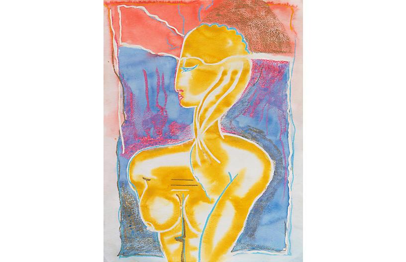 Modernist Nude by Dawn O'Malley