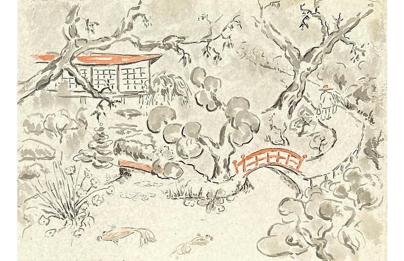 Hakone Garden, Donald Geoffroy