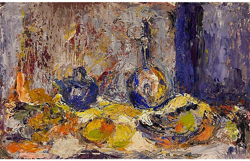 Post Impressionist Still Life, 1960s