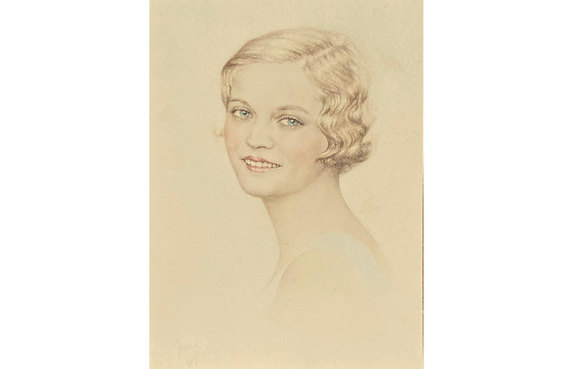 Portrait of a Young Woman, 1956