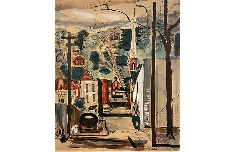 The Crooked Mile, Galena, Frank Hermann