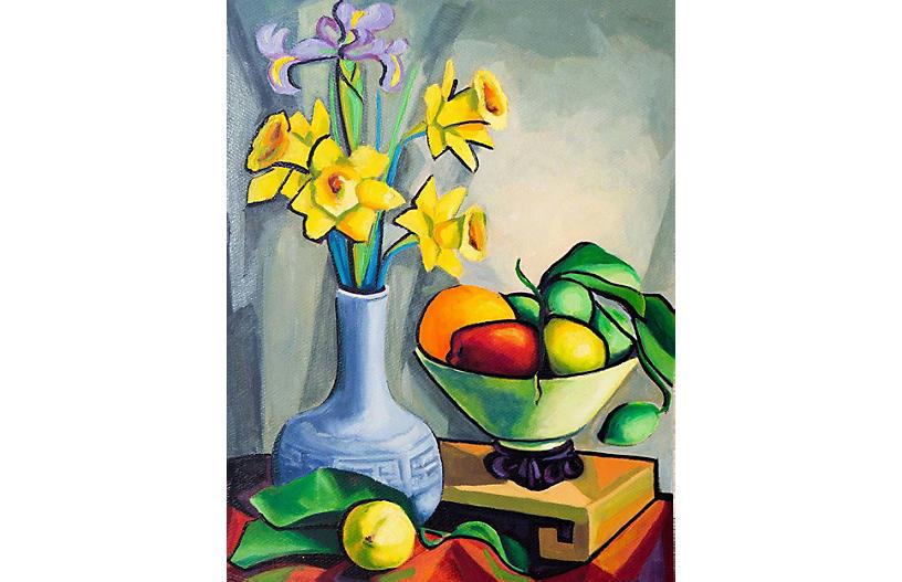 Still Life of Daffodils, Virginia Rogers