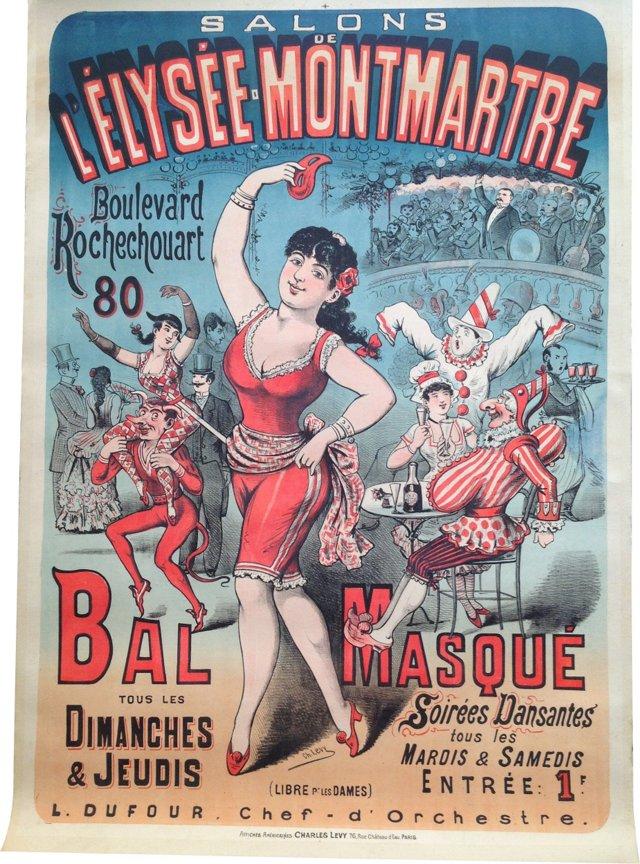 L'Élysée- Monmarte Poster