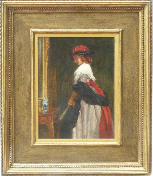 Lady Regarding Herself in a Mirror