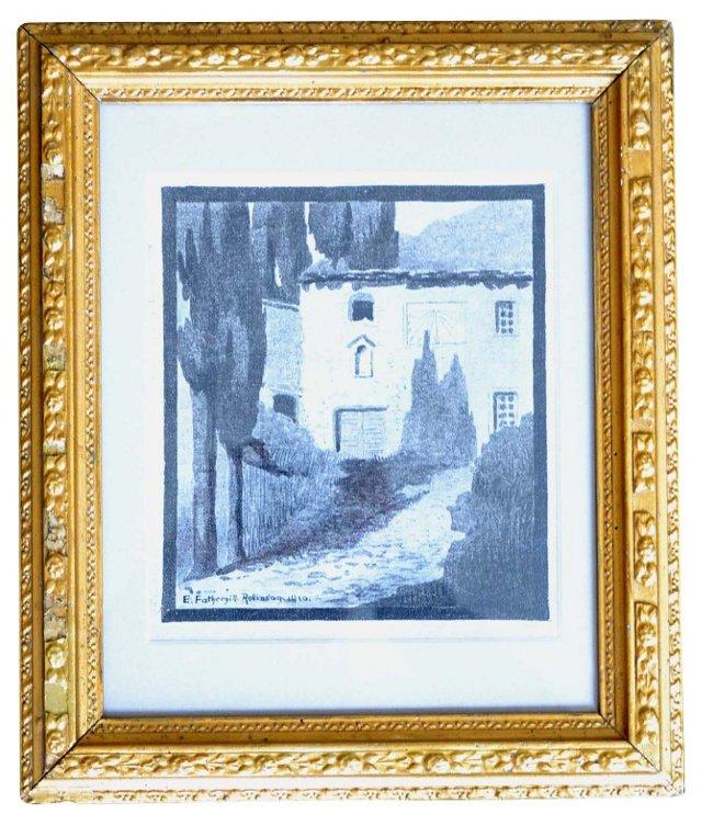 Italian Villa  by E. F. Robinson