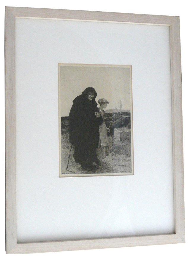 Homeless by Charles Jean-Louis Coutry