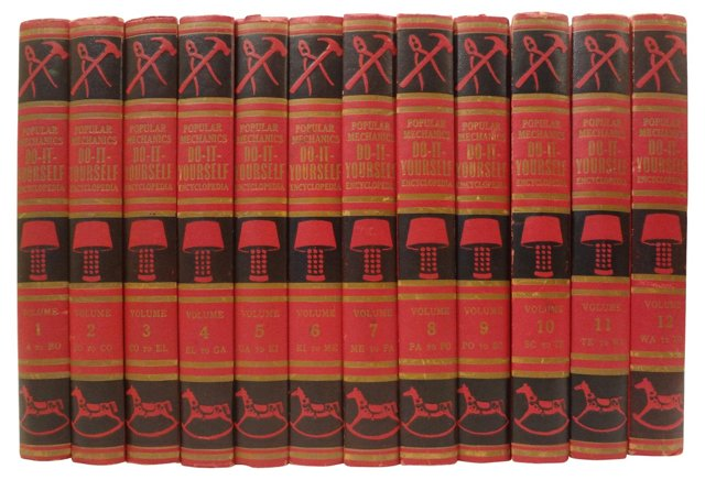 Do-It-Yourself Encyclopedia, 12 Vols