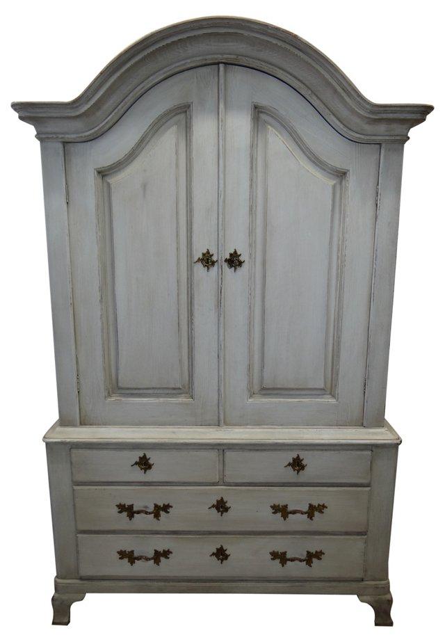 Swedish Rococo-Style  Cabinet