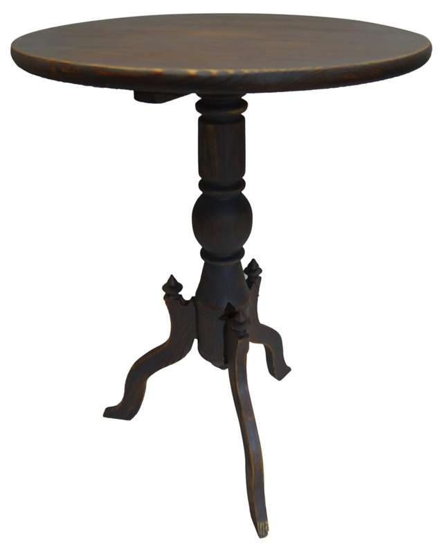 Swedish  Gray   Pedestal Table