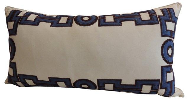 Appliqué Bolster Pillow