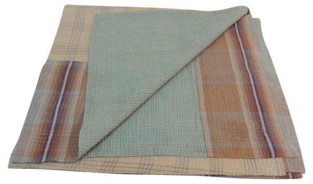 Indian Plaid Blanket