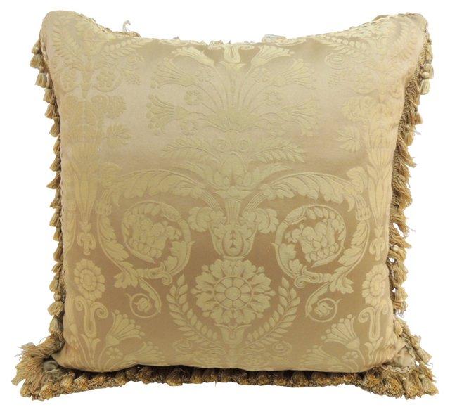 Damask Silk Pillow