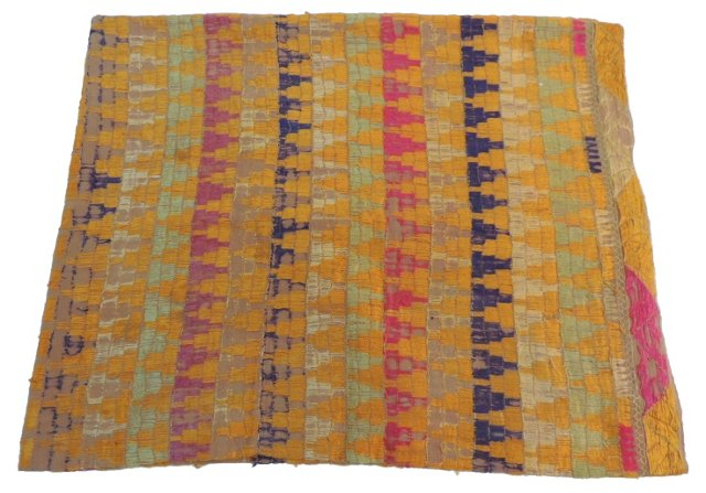 Indian Multicolor Bagh Shawl