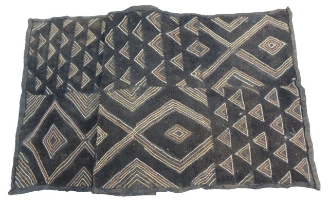 African Brown & Black Textile