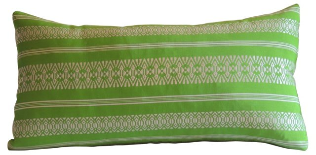Japanese Obi Lumbar Pillow