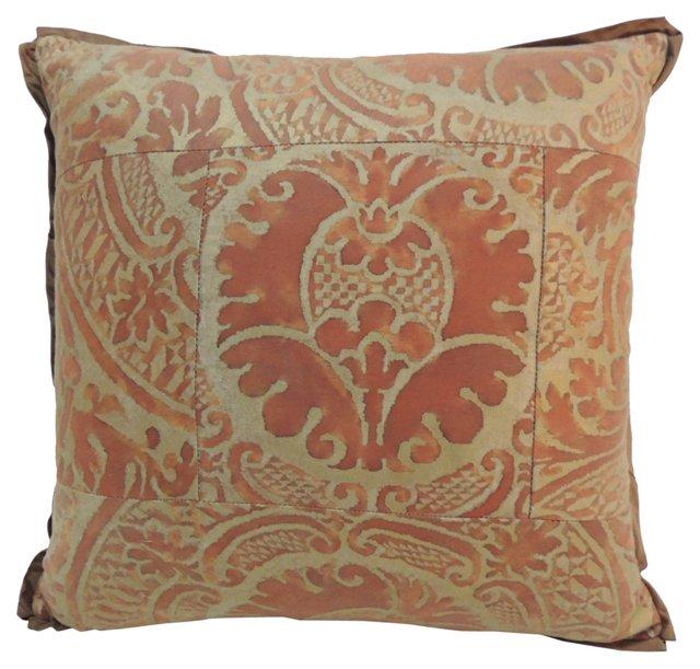 Golden Fortuny Pillow