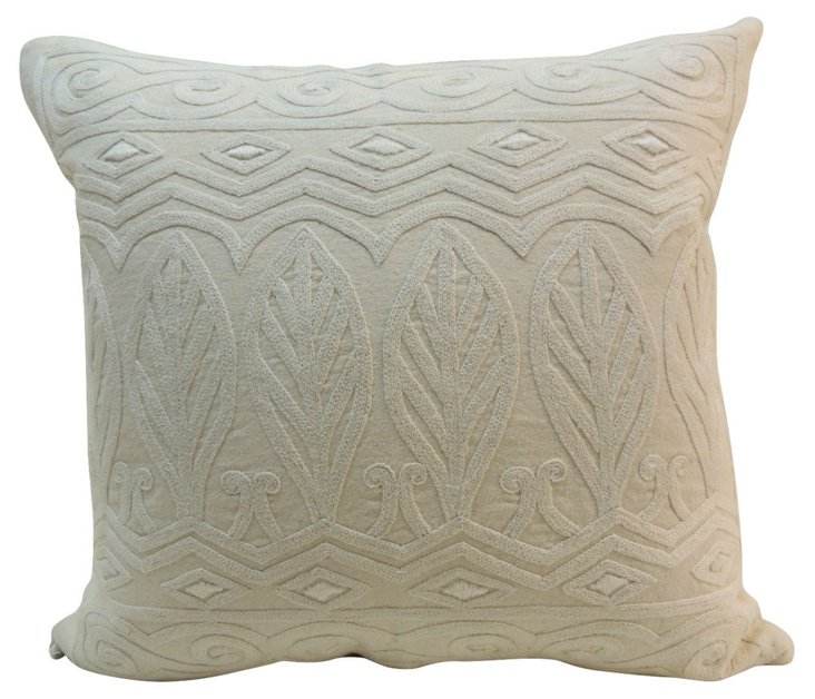 Swedish Embroidery Pillow
