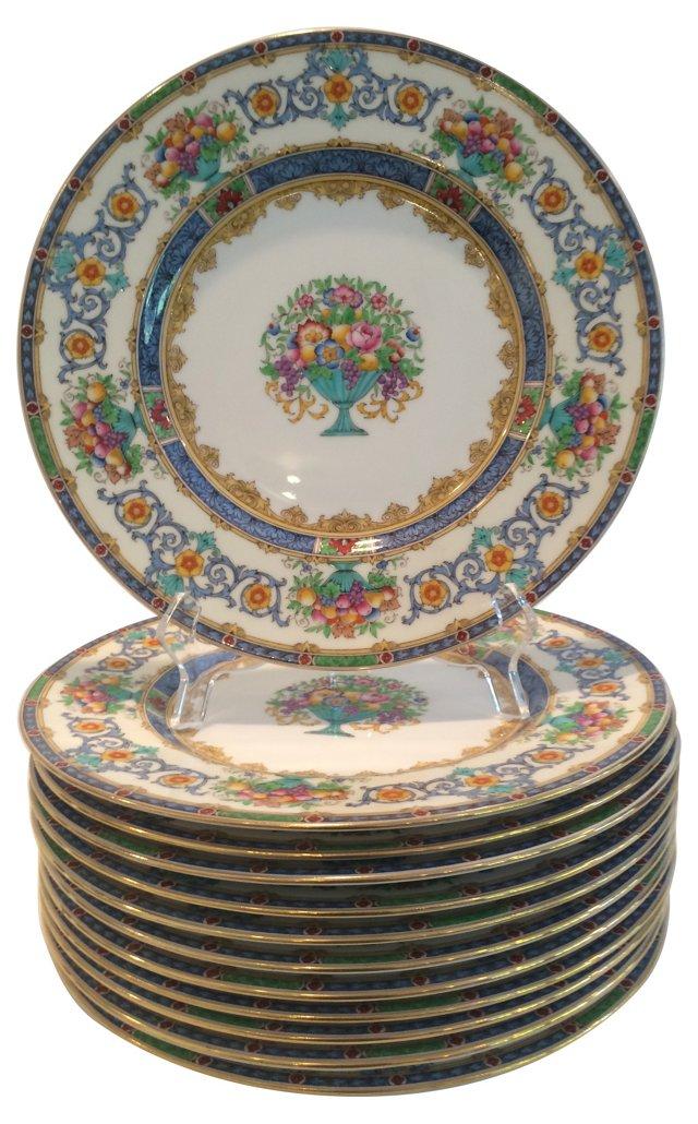 Minton Dinner Plates, Set of 12