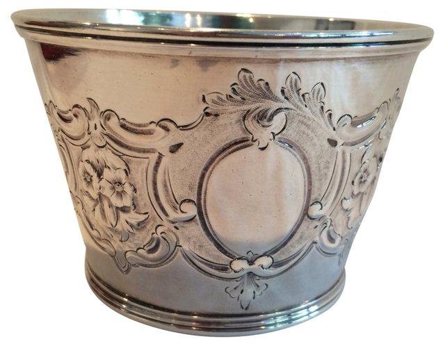 Antique Floral Motif Bowl