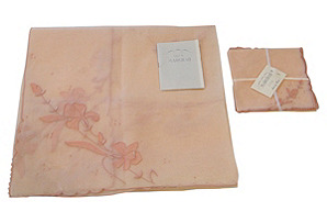 Marghab Iris Tablecloth & Napkins, S/4