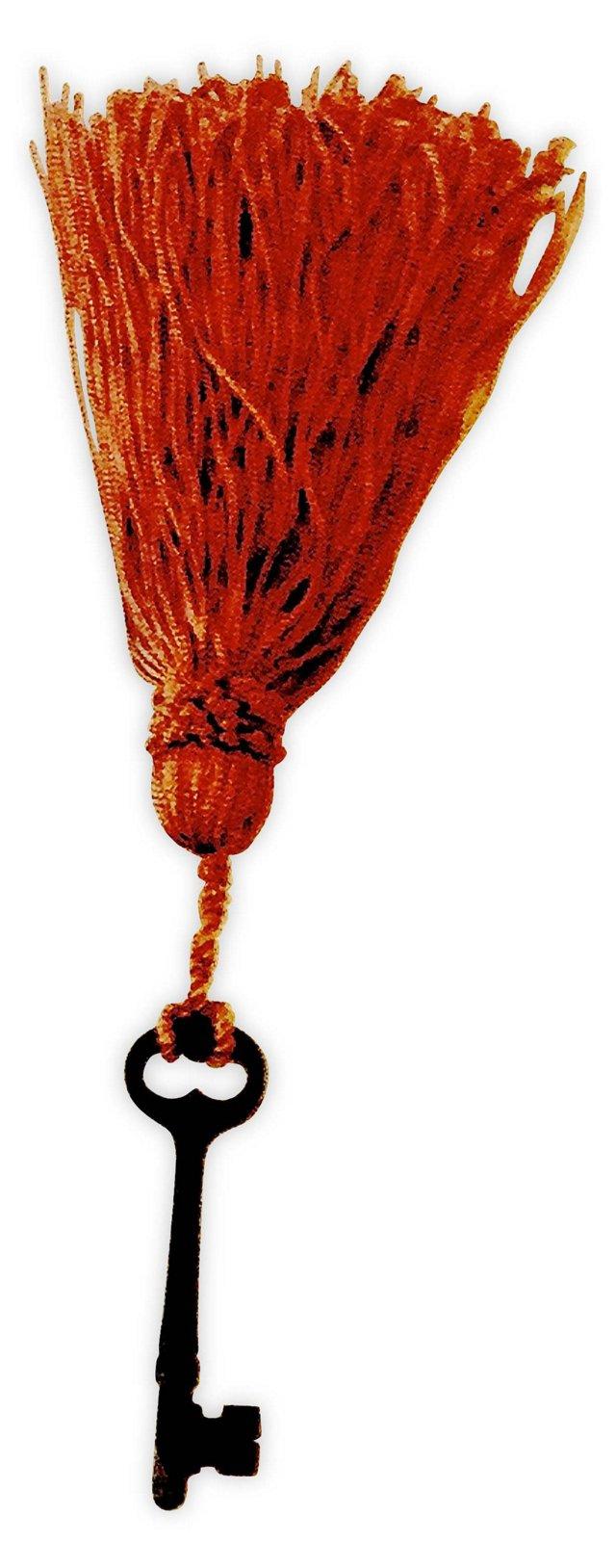 French Tassel w/ Skeleton Key