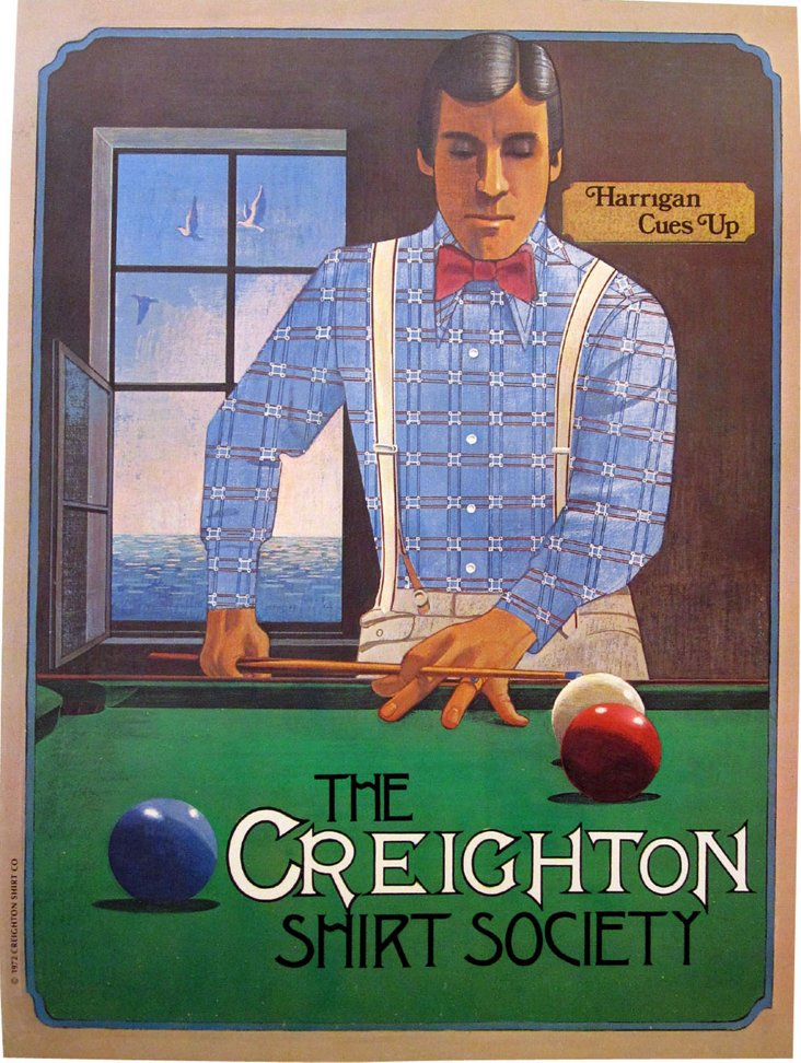 Billiards and Fashion Poster