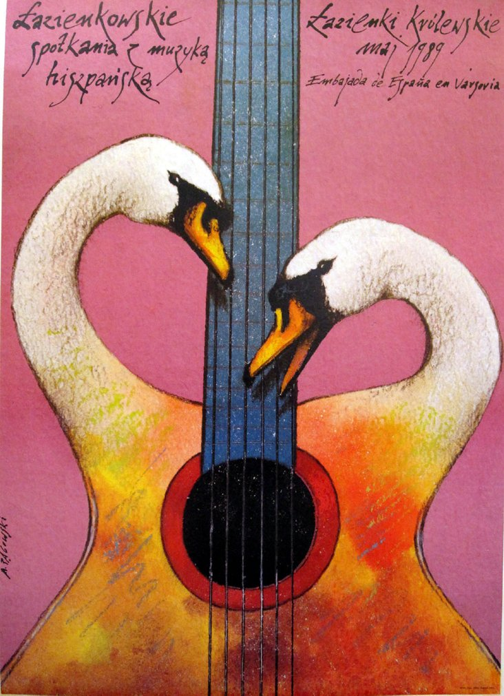 Guitars, Swans and Theater