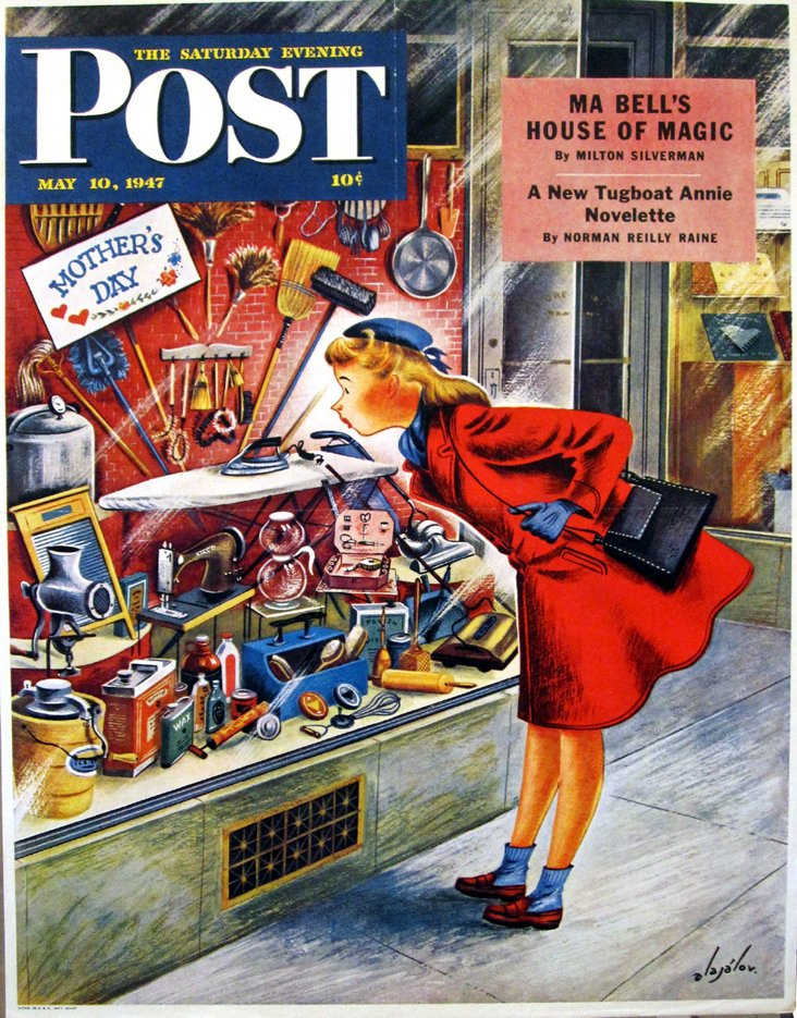Mother's Day, Saturday Evening Post