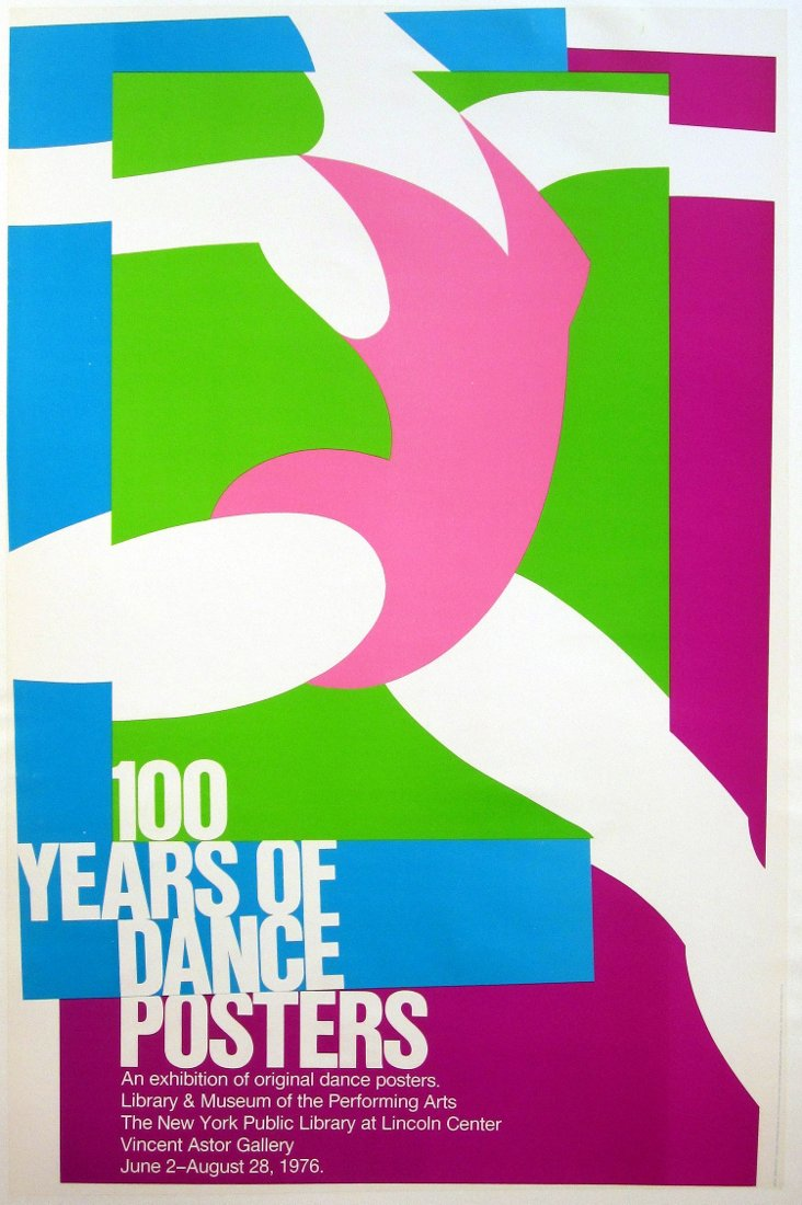 100 Years of Dance Poster