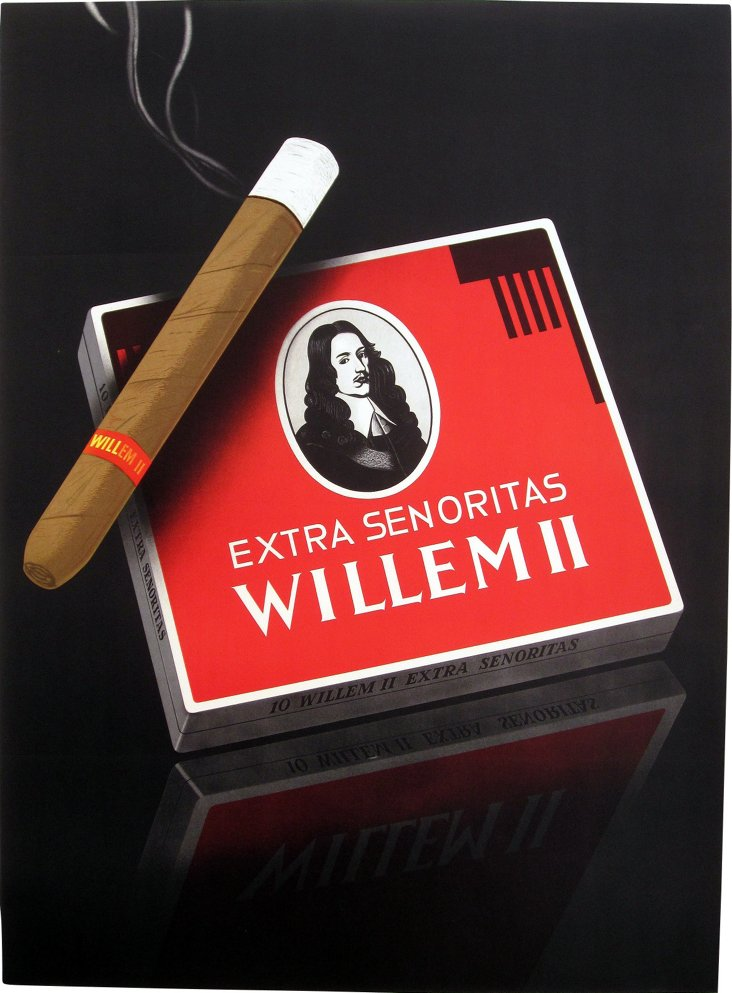 Swiss Cigars Poster