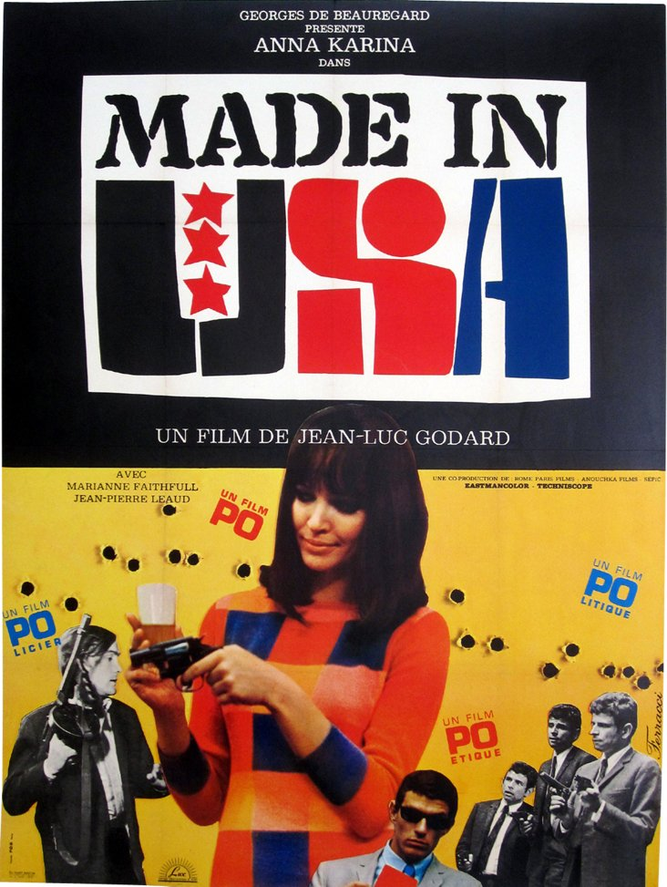 Made in USA by Godard