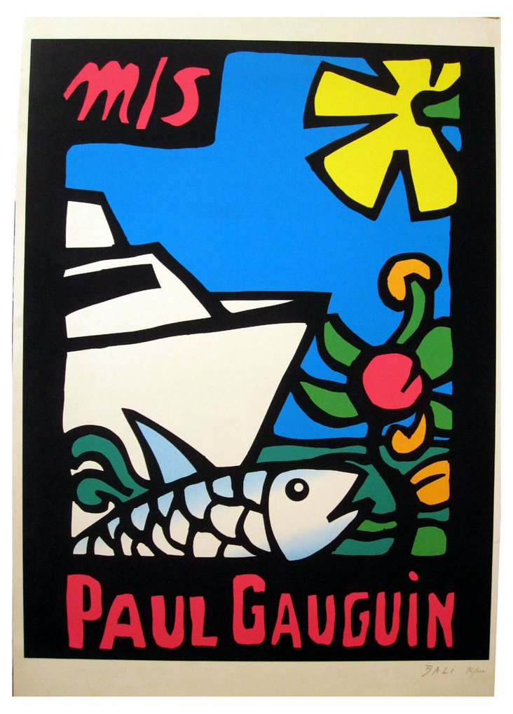 Paul Gauguin Cruise Poster