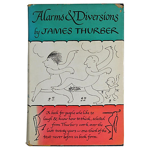 Thurber: Alarms and Diversions, 1st Ed.