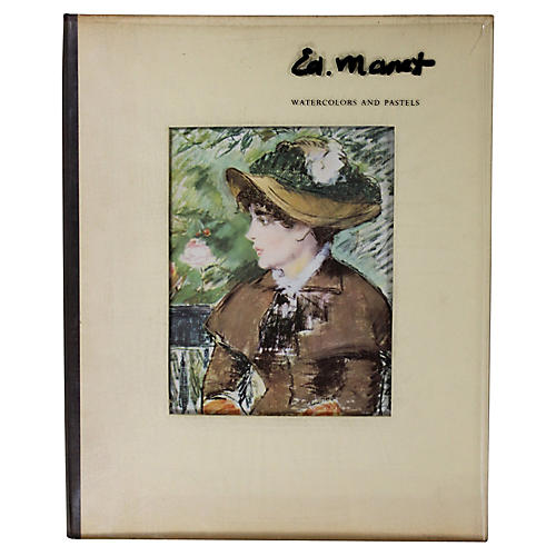 Manet: Watercolors & Pastels, 1st Ed.