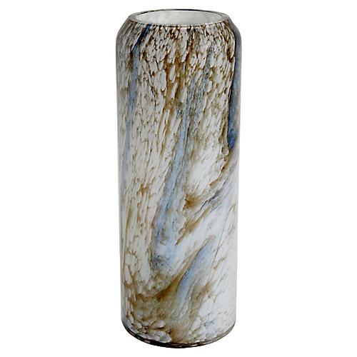 Val St. Lambert Art Glass Vase