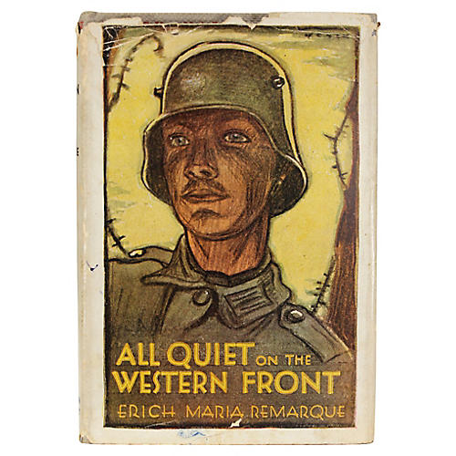 All Quiet on the Western Front, 1st Ed.