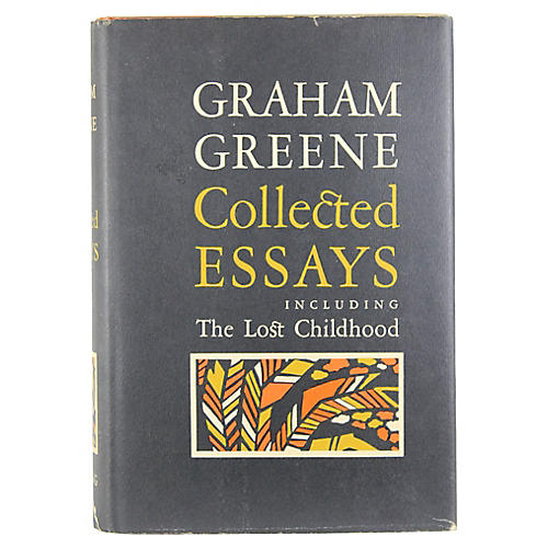 Graham Greene Collected Essays, 1st Ed.