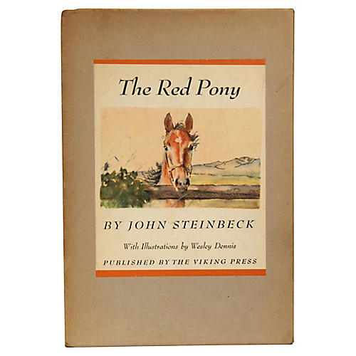 Steinbeck: The Red Pony, Illustrated 1st
