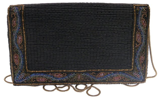 Bergdorf Goodman Beaded Clutch