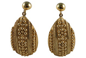 Park Lane Goldtone Earrings