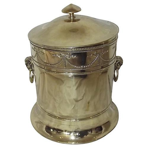 Polished Brass Fireplace Bucket
