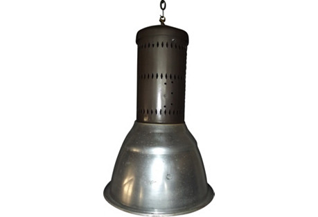 French Industrial Pendant Lamp