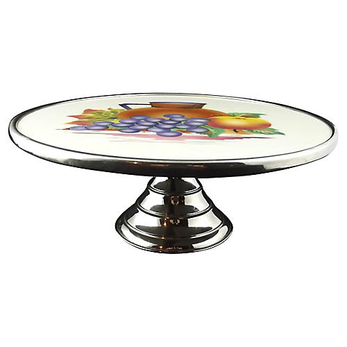 Belgian Decorated Cake Stand