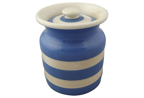 Cornishware Canister