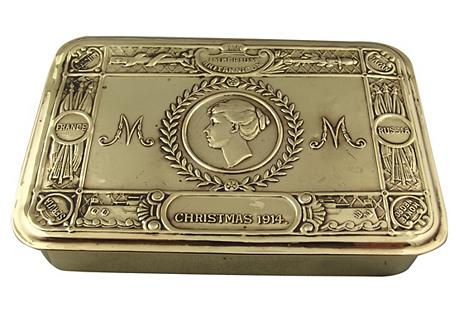 Brass Mary Box
