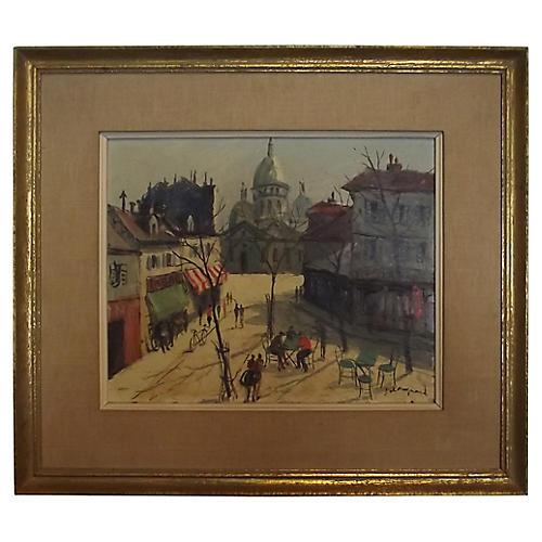 Parisian Landscape w/ Sacre Coeur