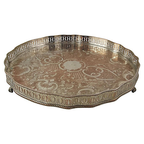 English Sheffield Tray